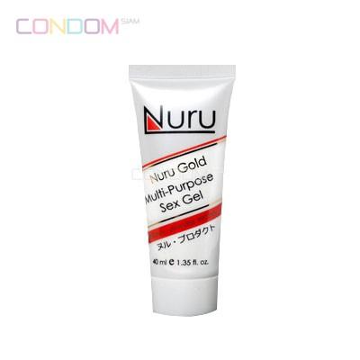 Nuru Gel Gold 40 ml,จำหน่าย,ถุงยาง,กางเกงใน,อาหารเสริม,เครื่องสำอาง,ของเล่น,สำหรับผู้ชาย