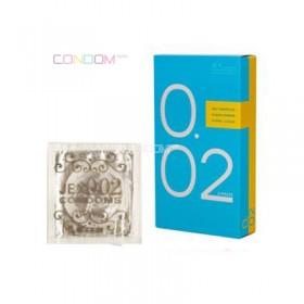 ถุงยางญี่ปุ่น Jex Condoms 0.02 box of 6