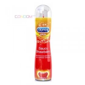 Durex Play Sweet Strawberry 100 ml (ดูเร็กซ์ เพลย์ สวีท สตรอเบอร์รี่)